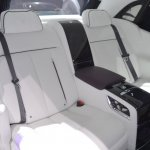 2018 Rolls-Royce Phantom EWB rear seats at 2017 Dubai Motor Show
