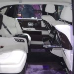 2018 Rolls-Royce Phantom EWB rear seats side view at 2017 Dubai Motor Show