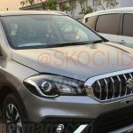 2018 Suzuki SX4 S-Cross front three quarters spy shot Indonesia