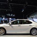 2018 Toyota Camry Hybrid profile at 2017 Dubai Motor Show