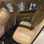 2018 Toyota Camry Hybrid rear seats at 2017 Dubai Motor Show