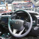 2018 Toyota Hilux Revo at Thai Motor Expo 2017 dashboard