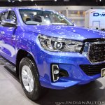 2018 Toyota Hilux Revo at Thai Motor Expo 2017 front three quarters