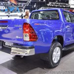 2018 Toyota Hilux Revo at Thai Motor Expo 2017 rear angle