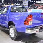 2018 Toyota Hilux Revo at Thai Motor Expo 2017 rear three quarters