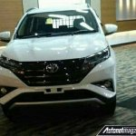 2018 Toyota Rush leaked front end