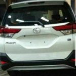 2018 Toyota Rush leaked rear end