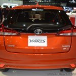 2018 Toyota Yaris at Dubai Motor Show 2017 rear