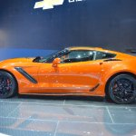 2019 Chevrolet Corvette ZR1 profile at 2017 Dubai Motor Show