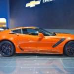 2019 Chevrolet Corvette ZR1 right side at 2017 Dubai Motor Show