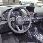 Audi Q2 dashboard at 2017 Dubai Motor Show