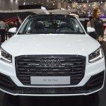 Audi Q2 front at 2017 Dubai Motor Show
