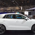 Audi Q2 profile at 2017 Dubai Motor Show