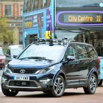 Autonomous Tata Hexa testing in the UK