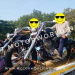 Avantura Choppers spied front left quarter