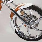 Avantura Rudra front wheel