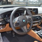 BMW 6 Series GT dashboard at 2017 Dubai Motor Show
