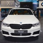 BMW 6 Series GT front at 2017 Dubai Motor Show