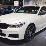 BMW 6 Series GT front three quarters at 2017 Dubai Motor Show