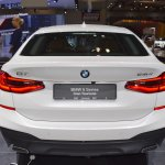 BMW 6 Series GT rear at 2017 Dubai Motor Show