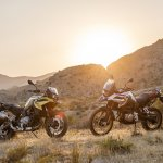 BMW F 750 GS & BMW F 850 GS press shot