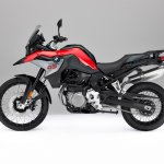 BMW F 850 GS Red press shot left side