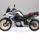 BMW F 850 GS White press shot left side