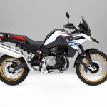 BMW F 850 GS White press shot right side