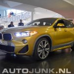BMW X2 live images front three quarters