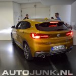 BMW X2 live images left rear three quarters
