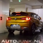 BMW X2 live images rear angle