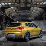 BMW X2 rear three quarters