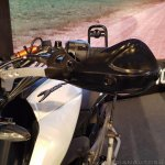 Bajaj Dominar 400 Trans Siberian Odeyssey bike knuckle guard