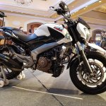 Bajaj Dominar 400 Trans Siberian Odeyssey front right quarter second bike