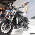 Benelli 402S at 2017 EICMA front left quarter