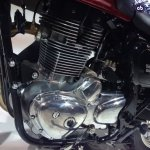 Benelli Imperiale 400 engine at 2017 EICMA