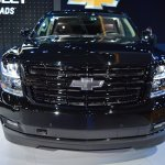 Chevrolet Tahoe RST front at 2017 Dubai Motor Show