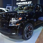 Chevrolet Tahoe RST front three quarters at 2017 Dubai Motor Show