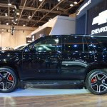 Chevrolet Tahoe RST profile at 2017 Dubai Motor Show
