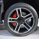 Chevrolet Tahoe RST wheel at 2017 Dubai Motor Show