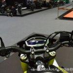 Custom Yamaha M-Slaz handlebars at 2017 Thai Motor Expo