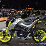 Custom Yamaha M-Slaz left side at 2017 Thai Motor Expo