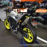 Custom Yamaha M-Slaz rear left quarter at 2017 Thai Motor Expo