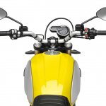 Ducati Scrambler 1100 press shot cockpit