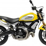 Ducati Scrambler 1100 press shot right side