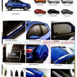 Ford EcoSport facelift brochure leaked colours and accessories