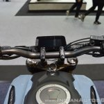 Honda CB150R ExMotion instrument console at 2017 Thai Motor Expo