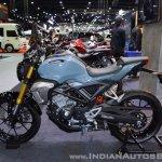 Honda CB150R ExMotion left side at 2017 Thai Motor Expo
