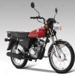 Honda CG 110 press front right quarter