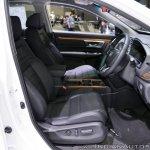 Honda CR-V Modulo at Thai Motor Expo 2017 front seats